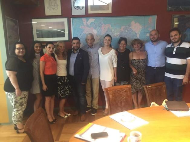 Επίσκεψη Π.Ο.Π.Σ.-ΠΑ.Σ.Ε.ΠΟ.Ν. στον Δήμαρχο Θεσσαλονίκης